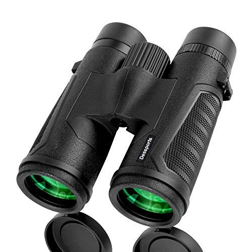 🥇 Prismáticos Dessports 12 x 42 para adultos con ocular grande de 18 mm