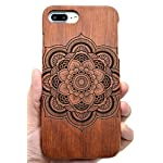 Iphone 7/8 wooden case, phantomsky[luxury series] premium quality handmade natural wood cover for your smartphone… 20 handmade natural eco-friendly wood makes the distinctive style and easy-to-use. Unique and authentic pattern makes your smartphone look more attractive. Elegant design, superior quality wood material make your smartphone and tablet stand above others!