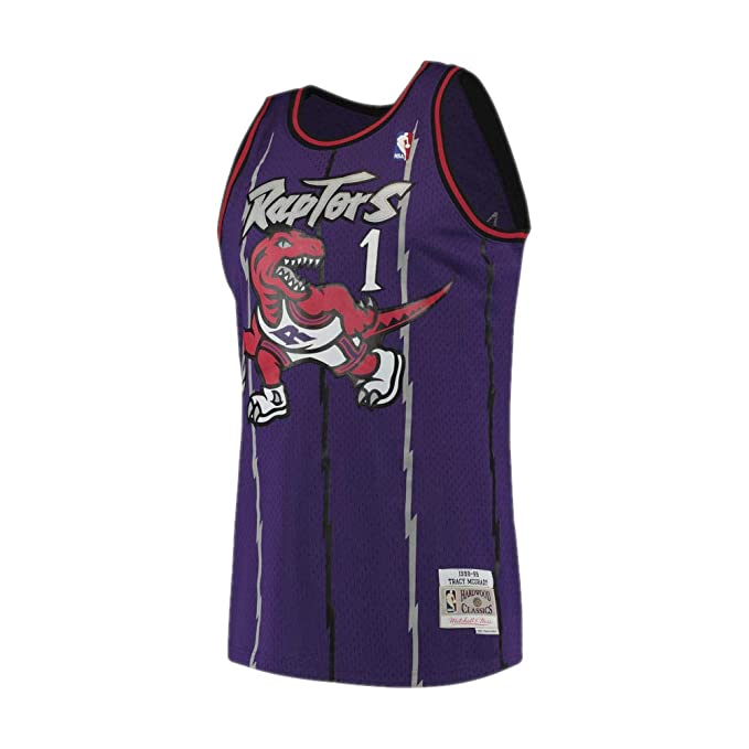 Camiseta NBA Toronto Raptors Tracy McGrady 1 (Morado), M