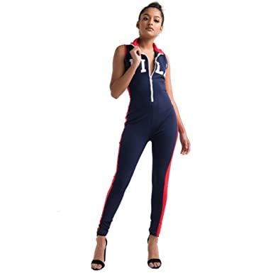 f847ffc51a2 Fila Women s Roseann Unitard - Blue -  Amazon.co.uk  Clothing