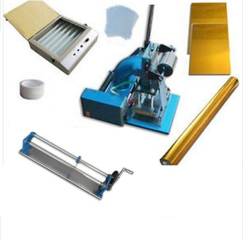 Hot Foil Stamp Machine Press Kit 3 (Hot Foil Stamping Machine Foil Slitter ASC Uv Exposure Unit Photopolymer Plate )