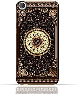 HTC Desire 820 TPU Silicone Case with Arabian Carpet Pattern 1002