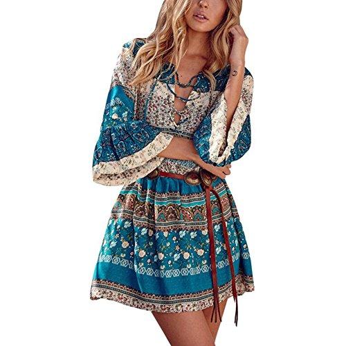 Buy belted linen dress - 8