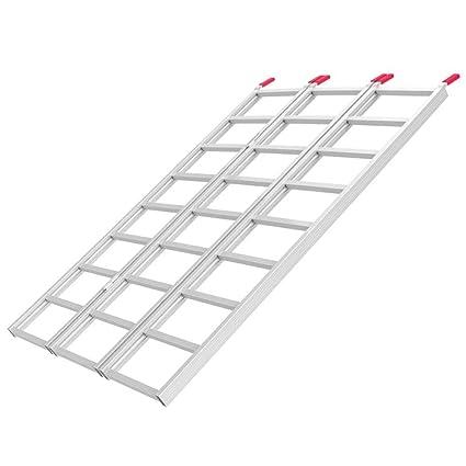 Yaheetech - Rampa de Carga Plegable de Aluminio para ...