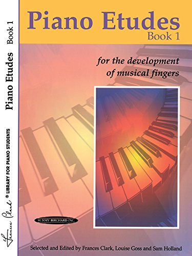 Piano Etudes Book 1