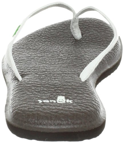 2 Flip Sandals Women's Spree White Flop Sanuk Yoga w8TU66