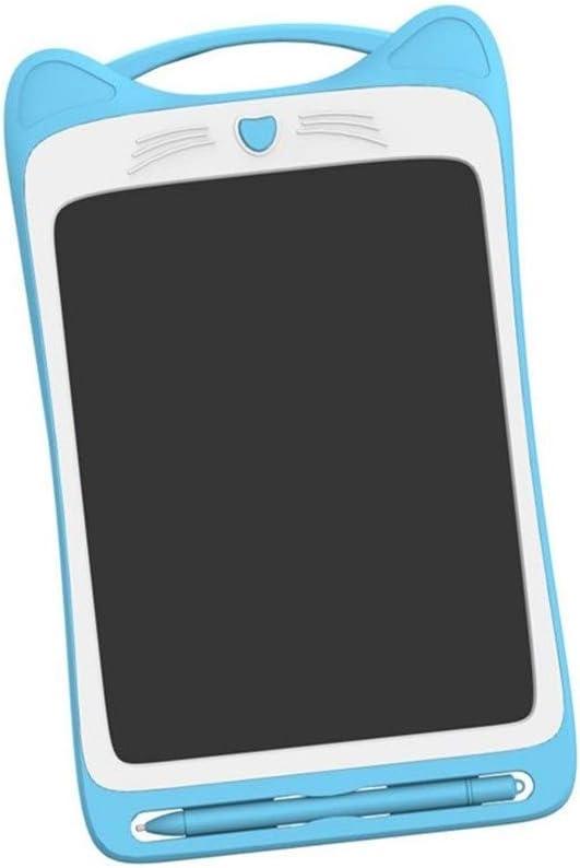 LCDライティングタブレット9インチカラフルなデジタル電子グラフィックタブレットポータブルボード手書き描画 ペン&タッチ マンガ・イラスト制作用モデル (Color : Blue)