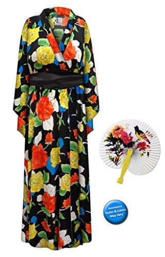 Brigh (Plus Size Geisha Halloween Costumes)