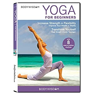 Yoga for Beginners DVD: 8 Yoga Video Routines for Beginners. Includes Gentle Yoga Workouts to Increase Strength…