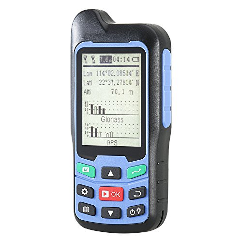 BEVA Handheld GPS GLONASS BEIDOU Length and Land Area Measure Calculation Meter, GPS Area Distance Measurement, Figure Track Multifunctional Measuring Instrument