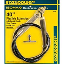 Eazypower 30167 40-Inch Flexible Drill Extension with 1/4-Inch Keyed Chuck