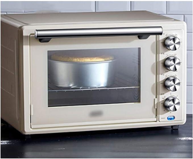 Pojrhfy Cocina Horno Horno Tostador Horno eléctrico Hogar Compuesto multifunción Esmalte Liner Control de Temperatura Independiente Fermentación a Baja Temperatura Hornos de Cocina: Amazon.es