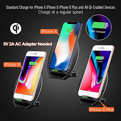 Seneo Iphone X Wireless Charger Fast Wireless Charger
