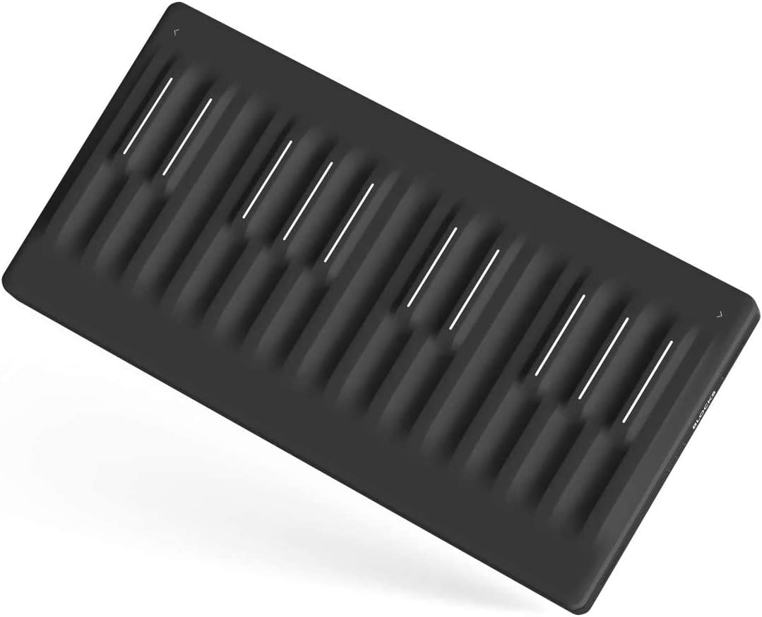 ROLI Seaboard Block Studio Edition Super Powered Keyboard Add Instant Expression to Your Music, Bend Pitch, Adjust Timbre & Shape Sound With Natural Gestures On A Soft,Touch-Responsive Surface