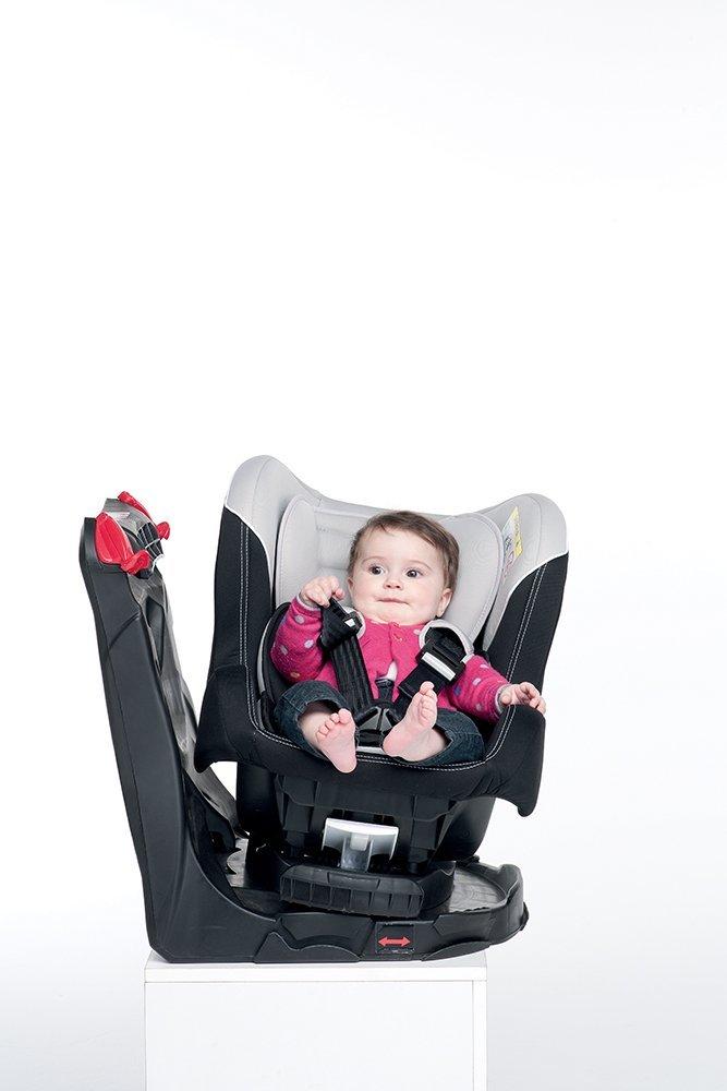 per Bambini dalla Nascita fino a 4 Anni circa Grigio Gruppo 0//1 0-18kg Foppapedretti Tourn/è Seggiolino Auto