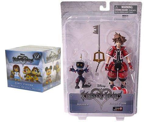 (Hero in World of Kingdom Hearts Disney Exclusive Valor Form Sora w/ Soldier 6