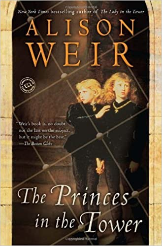 Image result for princes in the tower alison weir