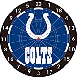 NFL Indianapolis Colts 12-Inch Paper Dart Board With Darts