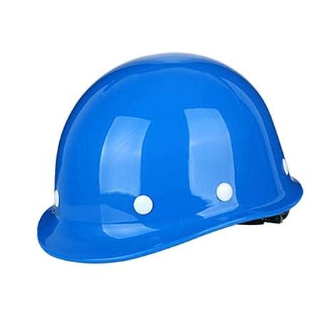 689bca5ce38be Casco Casco de construcción-Duro Sin ventilación Sombrero de seguridad  Equipo de protección personal Casco