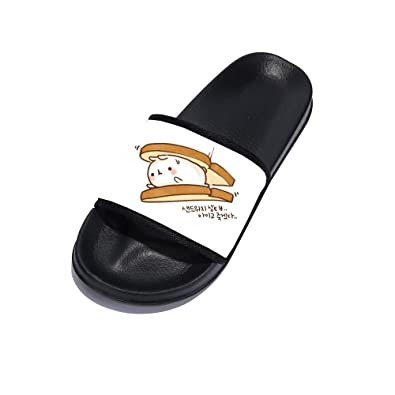 3173f7727e1c Image Unavailable. Image not available for. Color  Eric Carl Sandals for Men  Beach Sandals Anti-Slip Bath Slippers Shower Shoes Indoor Floor