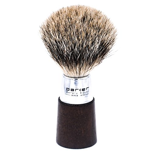 (Parker Safety Razor Handmade Shaving Brush - 100%