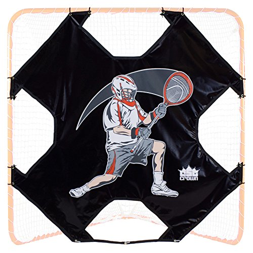 Crown Sporting Goods 6' x 6' Heavy-Duty Lacrosse Goal Target