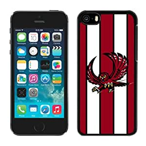 Iphone 5c Case Ncaa AAC American Athletic Conference Temple Owls 5 Pensonalized Phone Covers Apple Phone Cases