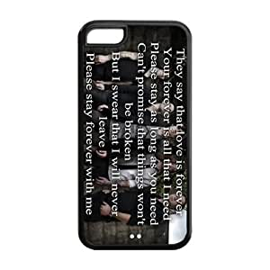 Painted Sleeping with Sirens TPU Hard back phone Case cover iPhone 5C