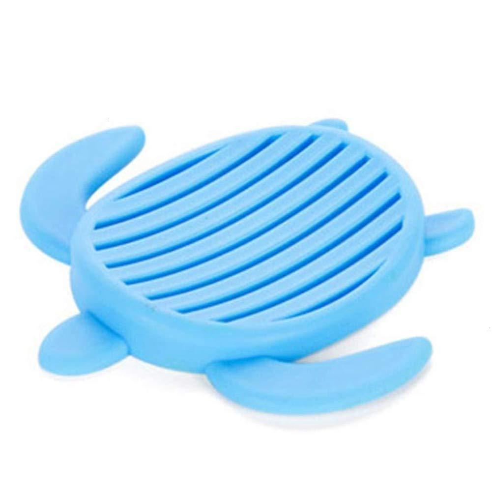 ulofpc Silicone Sapone Saver Holder per spugne Colorate Sapone Contenitore Portasapone per Doccia//Bagno//Cucina