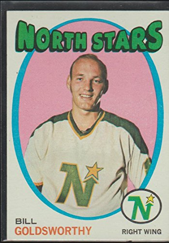 1971-72 Topps Bill Goldsworthy North Stars Hockey Card #55 ()
