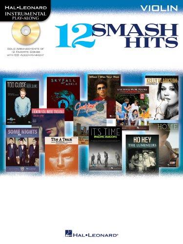 12 Smash Hits: for Violin (Hal Leonard Instrumental Play-Along)