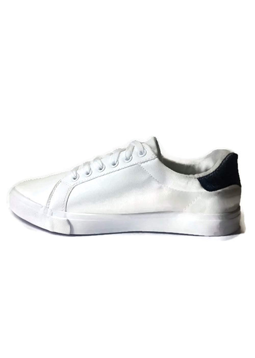 Pineberry White, Casual, Canvas, Clean