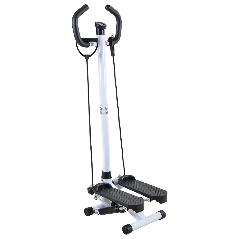 BestMassage Adjustable Twister Stepper with Handle Bar, Healthy and Fitness Mini Stepper
