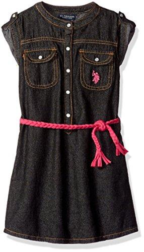 Belted Little Black Dress - 4