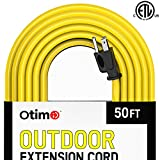 Otimo 50 Ft 14/3 Outdoor Heavy Duty Extension Cord Yellow
