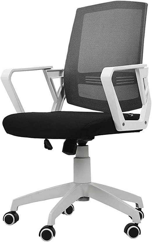 Chairs Silla ergonómica de Oficina Altura Ajustable con Soporte ...