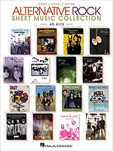 Alternative Rock Sheet Music Collection: 40 Hits: Hal