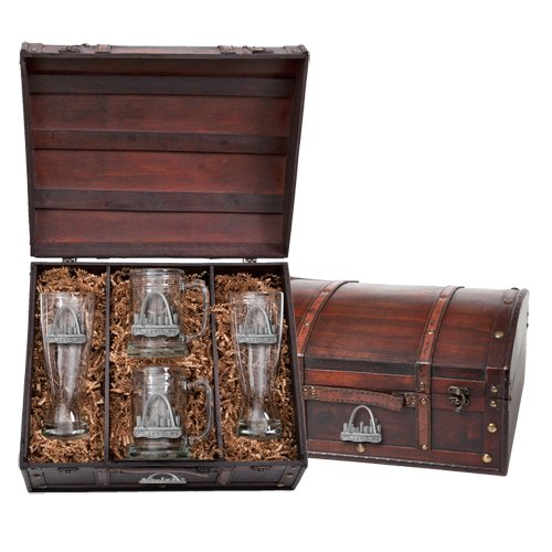 (Pewter St. Louis Beer Chest Set, Pilsners & Steins)