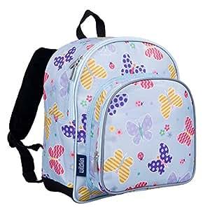 Wildkin 12 Inch Backpack Pack 'n Snack Butterfly Garden
