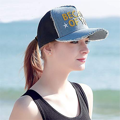 Protección Gorra Transpirable Sol Deporte de Fresca de Solar Sombrero Zgsjbmh Libre Aire Verano al Ms Gorra de de béisbol nFSASpz