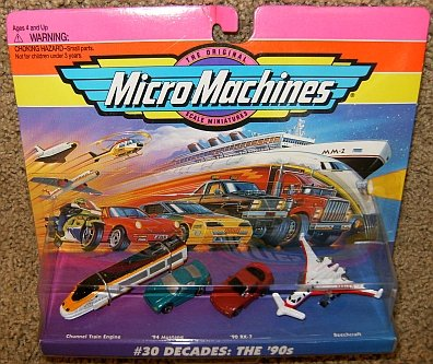 Micro Machines Decades: the 1990's #30 ()