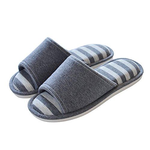 floor 43 cotton antiskid Indoor 44 grey slippers dark 4w8zn1x