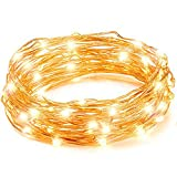 LED String Lights, Copper Wire Starry String Light, Soothing Décoration for Your Home & Bedroom, Elegant Rope Light Suitable for Christmas, Weddings, Parties Waterproof (33' 100 LEDs) - Vont