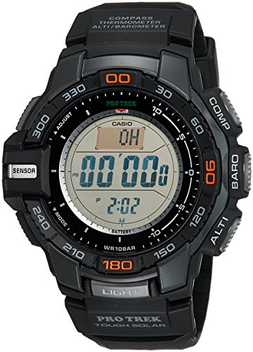 Casio Men's PRG-270 Pro Trek Triple Sensor Multifunction Digital Sport (Performance Digital Sport Watch)