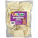 Pet Time Natural Rawhide Chips, 1-Pound