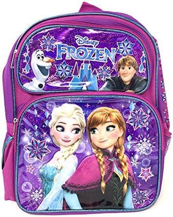 "Disney Princess Frozen Anna & Elsa 16\"" Large Backpack -16829"