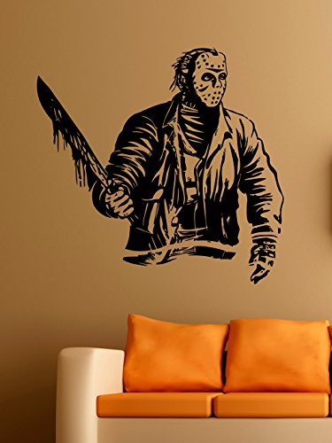 Jason Voorhees Vinyl Wall Decals Serial Killer in
