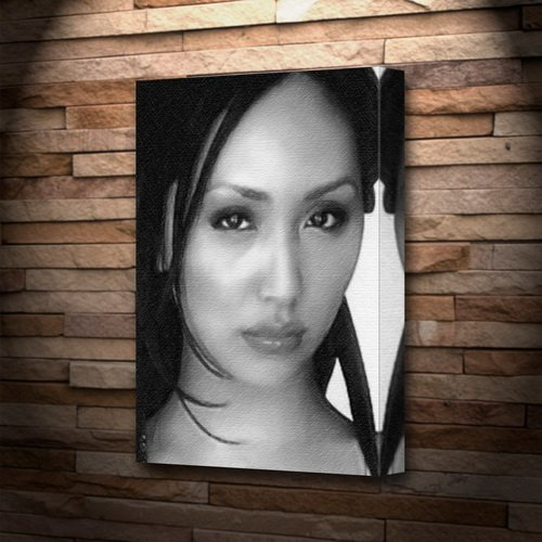 LINDA PARK - Canvas Print (LARGE A3 - Signed by the Artist) #js001