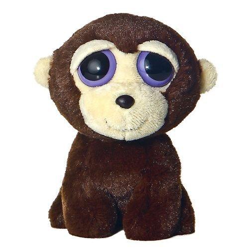 Aurora World Plush - Dreamy Eyes - HOOTS the Monkey (6 inch) (Monkey Eyes Big)
