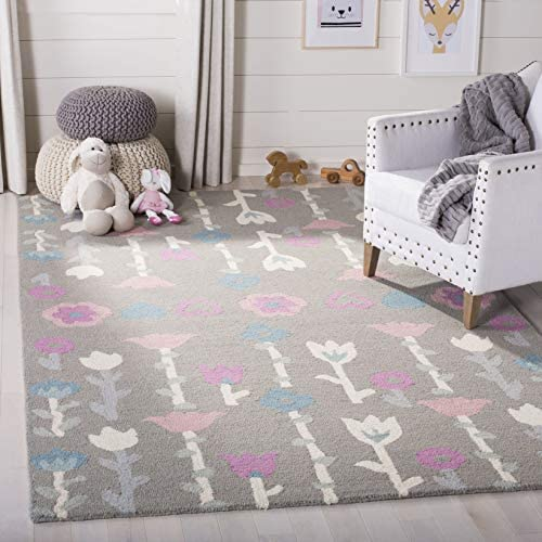 Safavieh Safavieh Kids Collection SFK918C Handmade Wool Area Rug